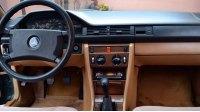 W124, интерьер
