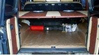 G-Класс, W460, багажник