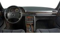 S-Класс, W126, интерьер