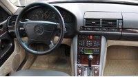 S-Класс, W140, интерьер